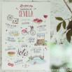 Poster Lovely Streets - Lo que me enamora de Sevilla