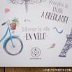 Poster Lovely Streets - Ce qui me charme à Paris (FR)