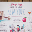 Poster Lovely Streets - Things that make me love New York (ENG)