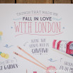 Poster Lovely Streets - Things that made me fall in love with London (ENG)