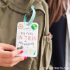 Etichetta per bagaglio - Voy a vivir un millón de aventuras