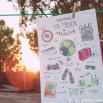 Poster Lovely Streets - Voy a vivir un millón de aventuras