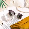 Gafas de sol de metal - Oro + Negro + Rosa