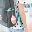 Portachiavi peluche squishy - Cupcake