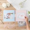 Album fotografico rosa - Il mio battesimo