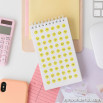 Block spirale con 1200 adesivi per rallegrare i tuoi appunti