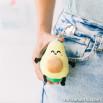 Portachiavi peluche - Avocado