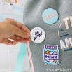 Extras for personalising your backpack - Hello
