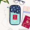 Portafoglio organizzatore di viaggio - It's travel time!