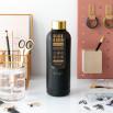 Bottiglia Black&Gold - Sono più un tipo da gin che da gym
