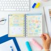 Agenda classica piccola 2021 Vista settimanale - Sogni, successi e grandi progetti