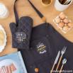 Grembiule + guanto da cucina - Il nostro chef preferito