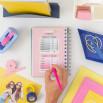 Diario scolastico classico piccolo 2021-2022 Vista settimanale - Ridi, sorridi e festeggia