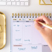 Planner settimanale - Ce la metterò tutta ogni giorno