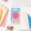 Portacarte adesivo per smartphone - Cuore