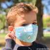 Pack di 2 mascherine in tessuto Bambini - Unicorni e cuori
