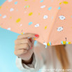 Ombrello piccolo corallo - Disegno con gocce