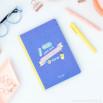 Quaderno con stickers e foglietti adesivi per non dimenticarti di niente