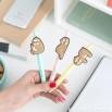 penne a forma di bradipo
