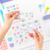 Kit per personalizzare e rallegrare la tua agenda e i tuoi quaderni