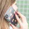 cover trasparente iphone X/Xs con fantasia bradipo
