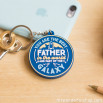 Portachiavi in gomma - For great fathers (ENG)