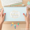 Planner settimanale per settimane brillanti e progetti straordinari (IT)