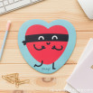 Tappetino per mouse - Cuore (ENG)