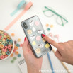 Cover trasparente per iPhone X - Colazione