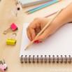 Pack di 4 matite con messaggi geniali (IT)