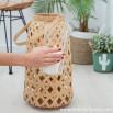 Lanterna intrecciata di Bambù