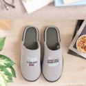Cofanetto regalo per papà amanti della comodità con pantofole di taglia 44-47