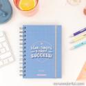 Set agenda classica piccola 2020-2021 settimanale - Idee, sogni e tanti successi