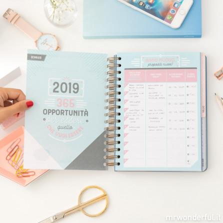 Agenda classica 2018-2019 Settimanale - Le mille e duecento cose che riuscirò a fare  (IT)