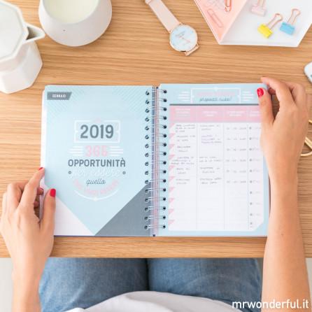 Agenda classica 2018-2019 Giornaliera - Giornate da un milione di ore (IT)