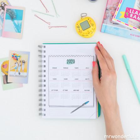 Agenda sketch 2018-2019 Settimanale - Oggi non mi ferma nessuno (IT)