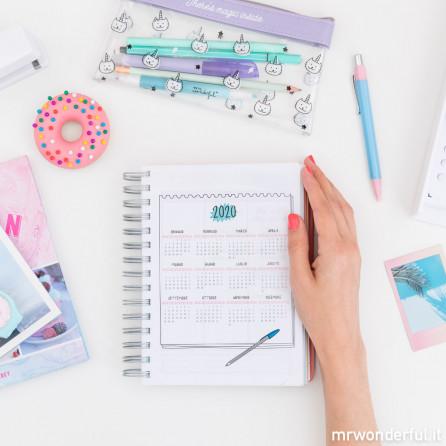 Agenda sketch 2018–2019 Giornaliera - Tutto quello che avrei dovuto fare ieri (IT)