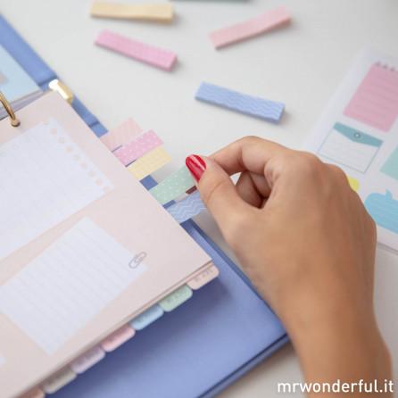 Contenuti extra delle abitudini sane per la tua agenda Mr. Wonderful  (IT)