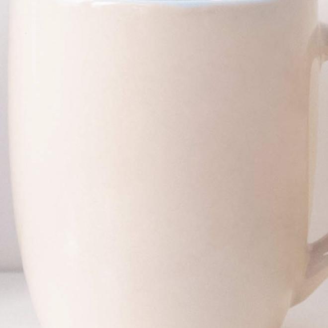 Personalised nude mug