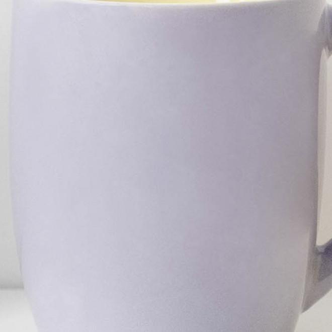 Personalised mauve mug