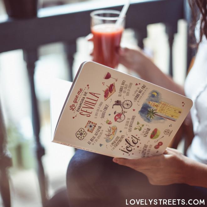 Notebook Lovely Streets - Lo que me enamora de Sevilla