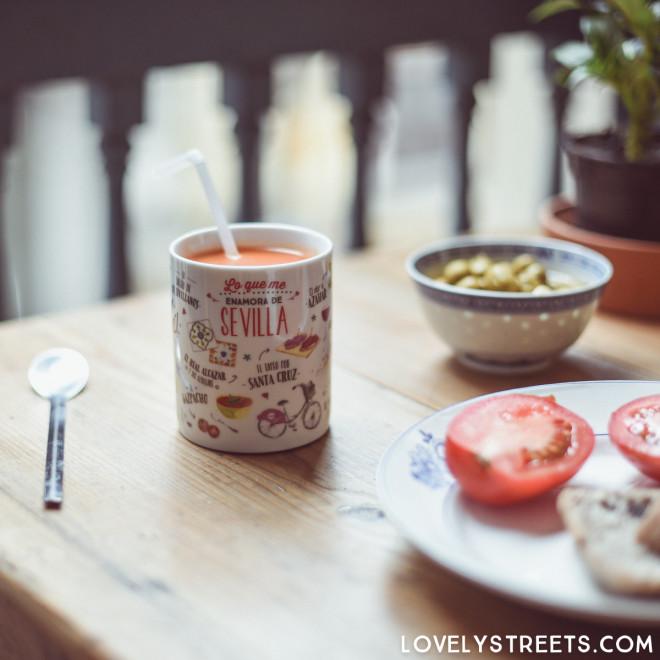 Mug Lovely Streets - Lo que me enamora de Sevilla