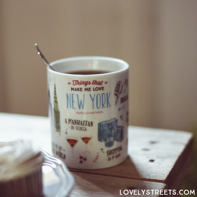 Mug Lovely Streets - Things that make me love New York