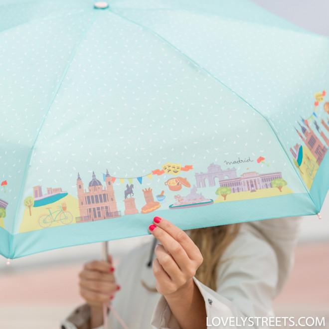 Small umbrella Lovely Streets - Madrid