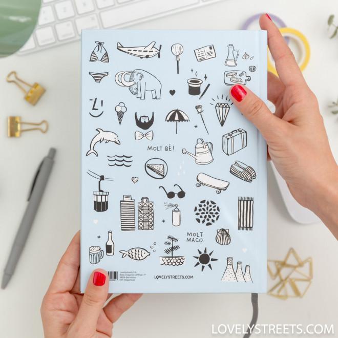 Notebook Lovely Streets - Sketch the world Barcelona