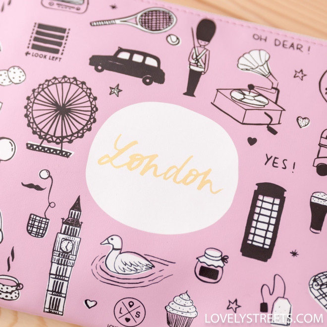 Wristlet Lovely Streets - Sketch the world London