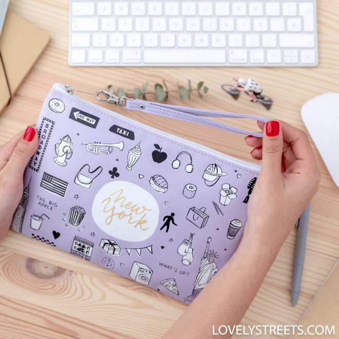 Wristlet Lovely Streets - Sketch the world New York