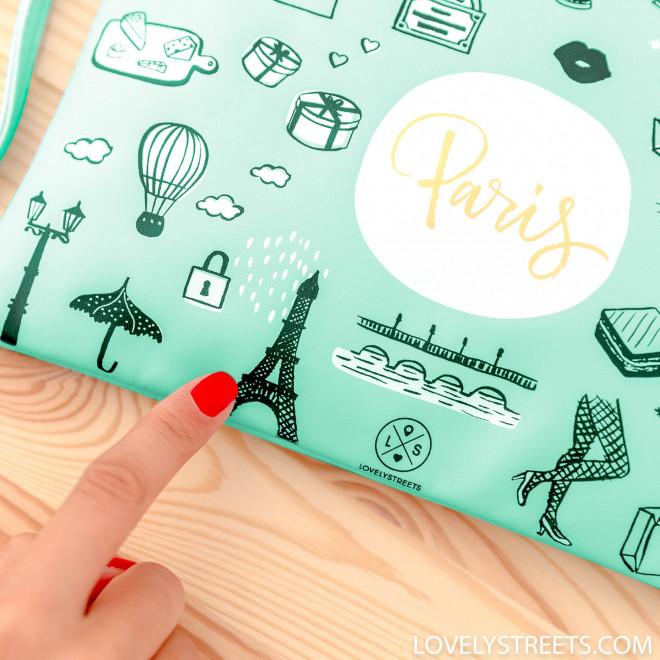 Wristlet Sketch the World Paris - Lovely Streets