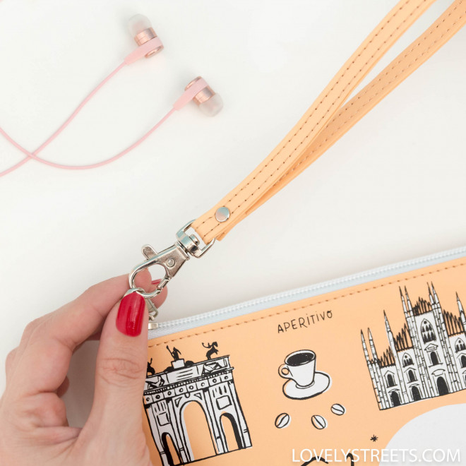 Wristlet Sketch the World Milano - Lovely Streets