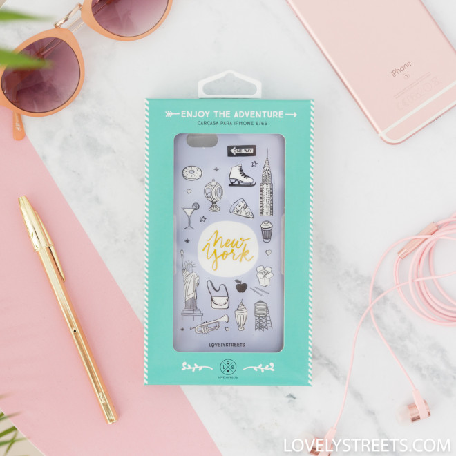 Case Lovely Streets for iPhone 6/6S - New York